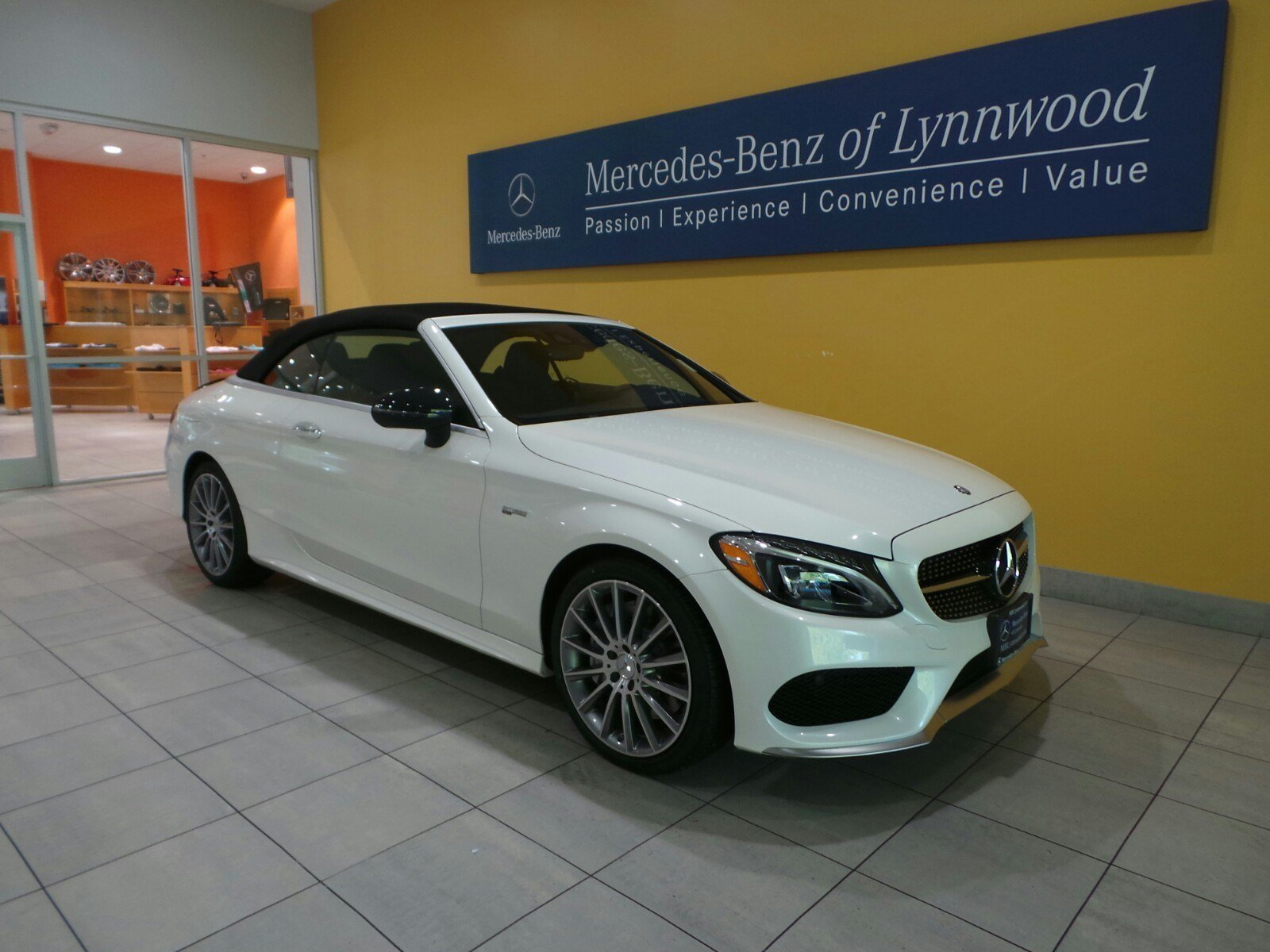new 2017 mercedes benz c class amg c43 4matic cabriolet cabriolet in lynnwood 27373 mercedes. Black Bedroom Furniture Sets. Home Design Ideas